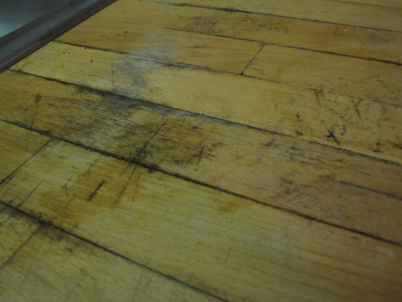 Fix Moldy Stained Wood Counter Top Kitchen Countertop